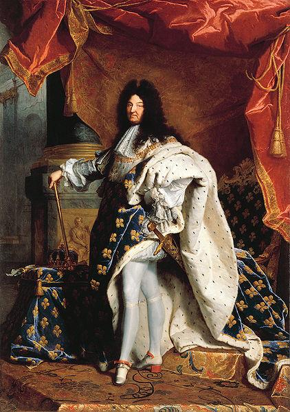 Πορτραίτο του Λουδοβίκου ΙΔ΄ (1701, έργο του Υάκινθου Ριγκώ)