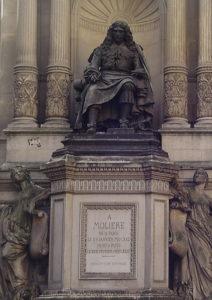 Αδριάντας του Μολιέρου στην οδό Ρισελιέ στο Παρίσι